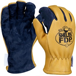 Shelby Style No. 5280 Gauntlet Firefighting Gloves