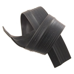 Radiator stone deflector seal