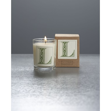 Monogram L Boxed Votive