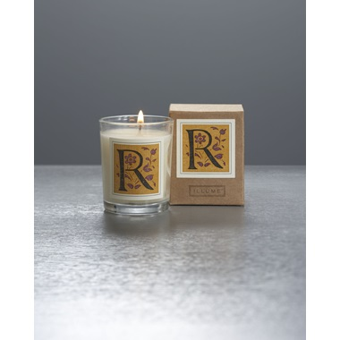 Monogram R Boxed Votive