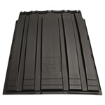 LID POLY 32 X 43 SW BLACK