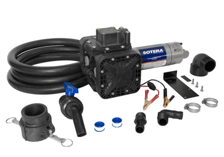 "12V Sotera Diaphragm Pump with 2"" Bung Adapter"