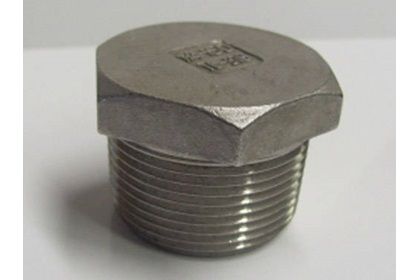 Stainless Steel Hex Head Plugs - Various Sizes