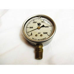 0-5000 PSI Glycerin Filled Gauge