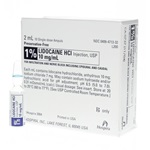 Lidocaine Injectable 1%, 2mL - Preservative Free