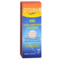 Optimum Extra Strength Contact Lens Solution, 2 oz.