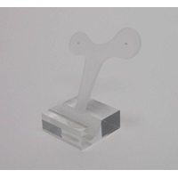 ACRYLIC WHALE TAIL STAND SHORT
