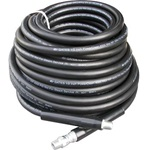 1/2″ x 100′ Black Pressure Hose with 4000 PSI