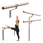 Wall-Mounted Ballet Barres