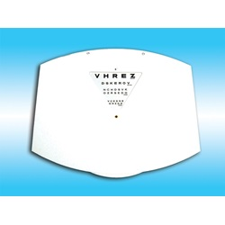 white Phoropter Near Point Replacement Card