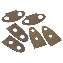 Trunk hinge mounting pad