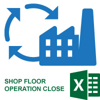 Shop Floor Operation Close Utility