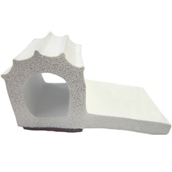 White Sponge Rubber Extrusion - Adhesive Backed (General Use)