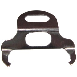 Door weatherstrip fastener