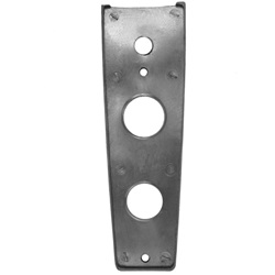 License light mounting pad