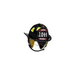 Cairns 1044 fire helmet Black