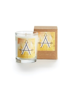 Monogram A Boxed Votive