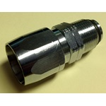 "3/4"" Swivel Reusable Hose End - Chrome Plated"
