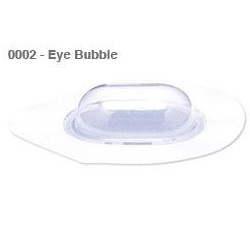 Clear Bovie eye bubble