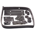 Body mounting pad kit