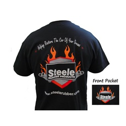 Steele Flames Logo T-Shirt