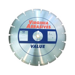 High Speed Cut Off Blades Laser Welded Wet/Dry - Concrete - Value