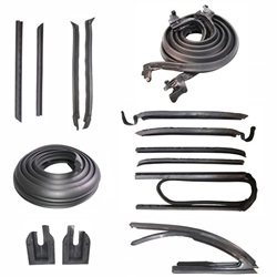 Deluxe Weatherstrip Kit