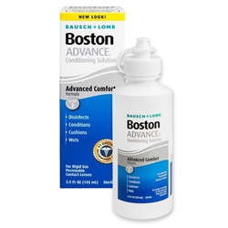 Boston Advance Contact Lens, 3.5 oz.