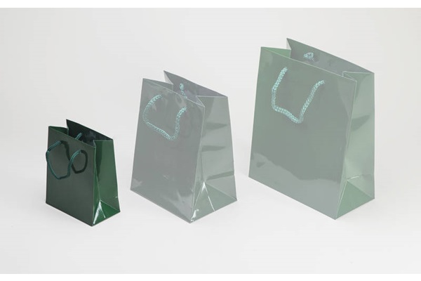GREEN SHOPPING BAG SMALL
