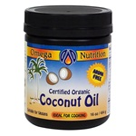 Coconut Oil 16 Oz. Organic