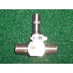 "1/2"" Stainless Steel Turbine Control"