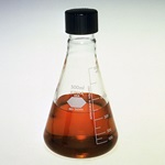Glass Erlenmeyer Flasks with Screw Cap (Kimble 26505)