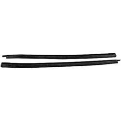 Leading edge weatherstrip