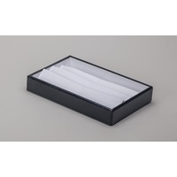 BLK/WHT 6 BANGLE POUCH TRAY
