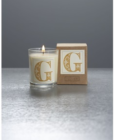 Monogram G Boxed Votive