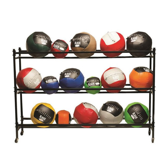 RAGE MEDICINE BALL RACK