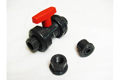 "1/2"" PVC True-Union Ball Valve"