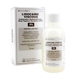 Lidocaine Oral Solution 2%, 100mL