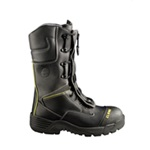 "Globe Technical 12"" Zipper/Speed Lace Structural Fire Boot"