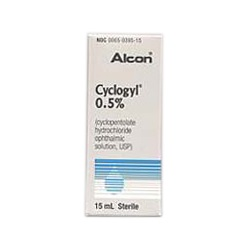 Cyclogyl Drops 0.5%, 15mL