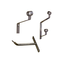 Gibson Wall-Mounted Ballet Barre Brackets