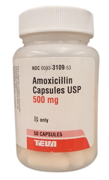 Amoxil 500 mg Contre Indication