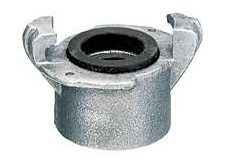 Threaded Coupling, Two Lug Aluminum