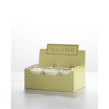 Lemongrass 6-Pack Votive Candle Set