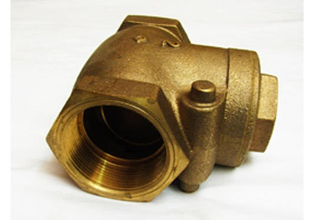 "2"" Brass Flapper Check Valve"