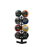 RAGE VERTICAL MEDICINE BALL RACK - 4 TIER