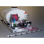 750 Gallon Elliptical Skid Sprayer with 3 Lane Boom