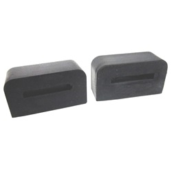 Bumper support bar pad