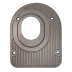 Brown steering floorplate