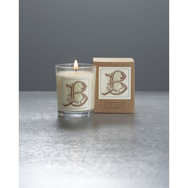 Monogram B Boxed Votive